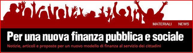 Forum per una nuova finanza pubblica e sociale